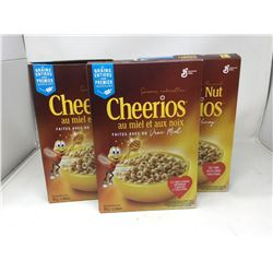 General Mills Honey Nut Cheerios (3 x 292g)