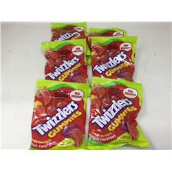 Twizzlers Tangy Tongue Twisters Gummies (6 x 182g)