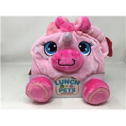 Lunch Pets Plush Lunchbox-pink