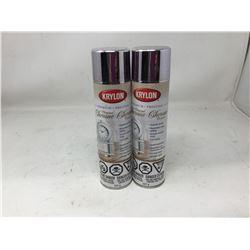 Krylon Premium Original Chrome Spray (2 x 227g)