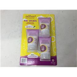 Alba Botanica Kids SPF 40 Sunscreen (3 x 113ml)