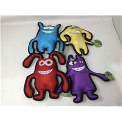 Lot of Canvas Dog Toys (4)
