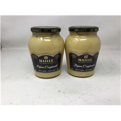 Maille Original Dijon Mustard (2 x 800ml)