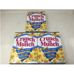 Crunch n' Munch Buttery Toffee (3 x 200g)