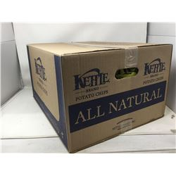 Case of Kettle All Natural Potato Chips