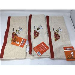 Peanuts Autumn Collection Hand Towels