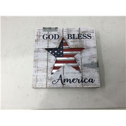 God Bless America Home Decor