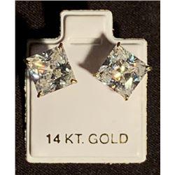 2 Guns (2013) - Denzel Washington (Bobby) 14KT Gold Hero Earrings