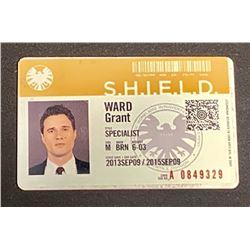 Agents of S.H.I.E.L.D. (2013 2020) - Agent Grant Ward (Brett Dalton) I.D Card