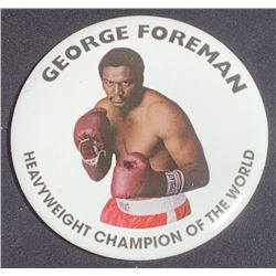Ali (2001) - George Foreman Boxing Match Badge