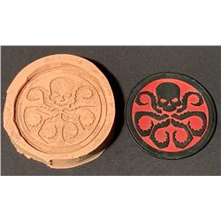 Captain America: The First Avenger (2011) - Hydra Symbol Mold And Symbol Badge