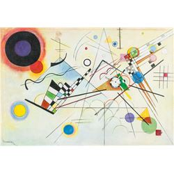 Wassily Kandinsky Russian Abstract Oil on Canvas