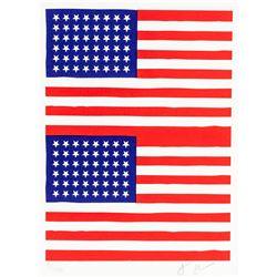 Jasper Johns American Pop Signed Litho 8/100