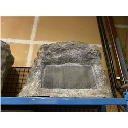 FIBER GLASS ROCK SPEAKER ENCLOSURE WITH ACCESS DOOR