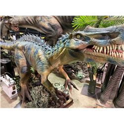 ANIMATRONIC IRRITATOR EARLY CRETACEOUS PERIOD DINOSAUR