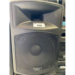 PODIUM PRO AUDIO PP1503A POWERED SPEAKER