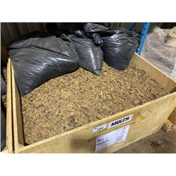 BIN OF ARTIFICIAL MULCH GROUND COVER