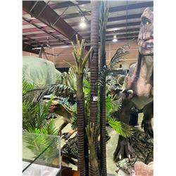 9 FAUX ASSORTED SIZED JURASSIC PERIOD TREES