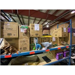 10 BOXES OF PROMOTIONAL DINOSAUR TOYS