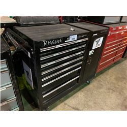 BYNFORD PRO 7 DRW 1 CABINET ROLLING TOOL CHEST