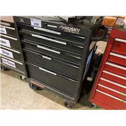 HUSKY LIMITED EDITION 5 DRW ROLLING TOOL CHEST, INCLUDES ALL CONTENTS