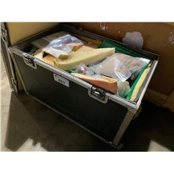 ROLLING ROAD CASE WITH CONTENTS INC. DINOSAUR REPAIR ITEMS