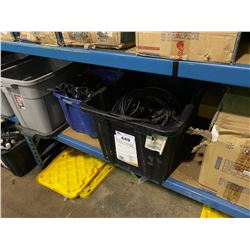 3 BINS OF ASSORTED CABLING