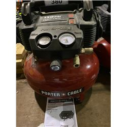 PORTER CABLE 150 PSI 6 GAL. PORTABLE COMPRESSOR