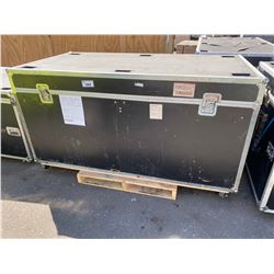 "ROAD CASE, 83"" WIDE X 43"" DEEP X 44"" TALL"