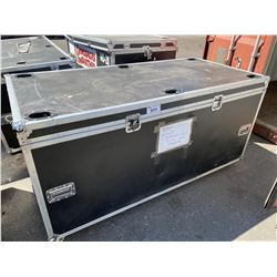 "ROLLING ROAD CASE, 75"" WIDE X 36"" DEEP X 37"" TALL"
