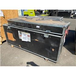 "ROAD CASE, 90"" WIDE X 48"" DEEP X 46"" TALL"