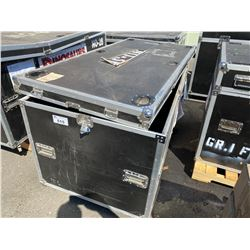 "ROLLING ROAD CASE, 76"" WIDE X 36"" DEEP X 36"" TALL"