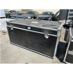 "ROLLING ROAD CASE, 83"" WIDE X 43"" DEEP X 43"" TALL"