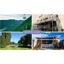 VANCOUVER ADVENTURE PACKAGE: 2x Grouse Mountain Admission, 4x Greenacres Golf Passes, 2x The Lost