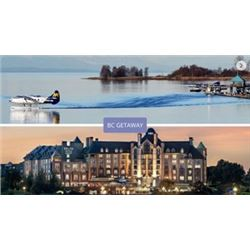 BC GETAWAY PACKAGE: 2x Harbour Air flights and 1 night stay at Delta Hotels by Marriott Victoria