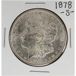 1878-S $1 Morgan Silver Dollar Coin