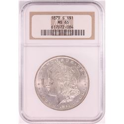 1879-S $1 Morgan Silver Dollar Coin NGC MS65 Old Holder
