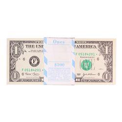 Pack of (100) Consecutive 2003 $1 Federal Reserve STAR Notes Atlanta