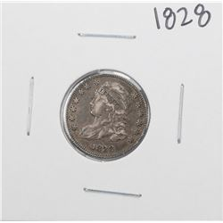 1828 Small Date Capped Bust Dime Coin