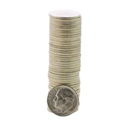 Roll of (50) Brilliant Uncirculated 1947-S Roosevelt Dime Coins