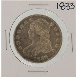 1833 Capped Bust Half Dollar Coin