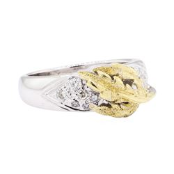 18KT Yellow and White Gold 0.40 ctw Diamond Ring