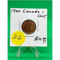 1944 CANADA 1 CENT.NICE GRADE MS++