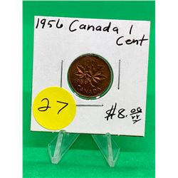 1956 CANADA 1 CENT.MS++