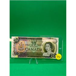 1969(REPLACEMENT) BANK OF CANADA $20 NOTE
