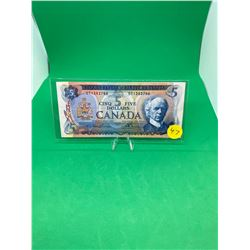 1972 BANK OF CANADA $5 NOTE