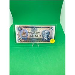 1979 BANK OF CANADA $5 NOTE