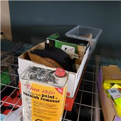 JUG OF PAINT AND VARNISH REMOVER MAGNETIC CAT DOOR