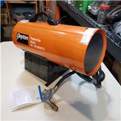 DAYTON PROPANE GAS HEATER 30-60000 BTU