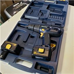 MASTERCRAFT CORDLESS DRILL, NO CHARGER